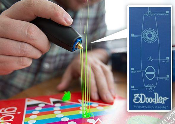 Des nouveautés pour le premier stylo d'impression 3D