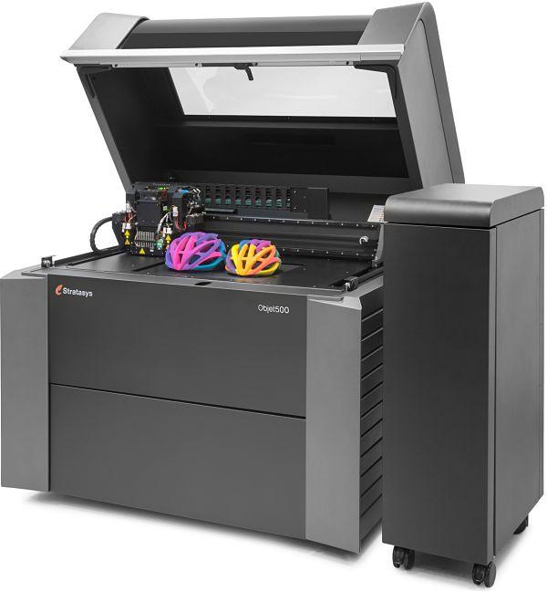 Stratasys dévoile une imprimante 3D multicouleurs et multimatériaux
