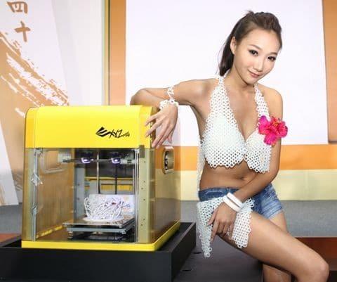 Da Vinci 1.0 : l'imprimante 3D pas chère d'XYZprinting