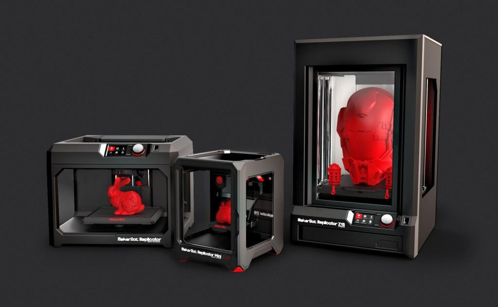Markerbot dévoile 3 nouvelles imprimantes 3D au CES !
