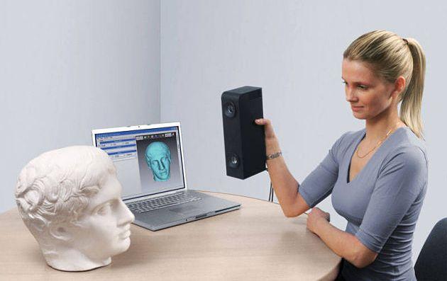 le scanner 3D appareil utilisé par les designer pour numériser des objets