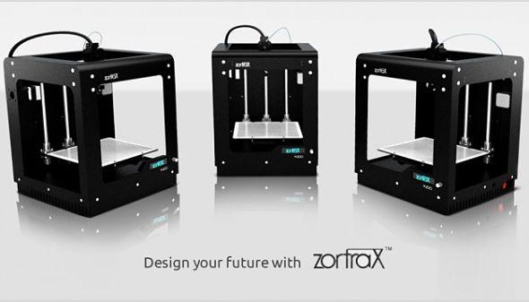 dell achète plusieurs milliers d'exemplaires de l'imprimante Zortrax M200