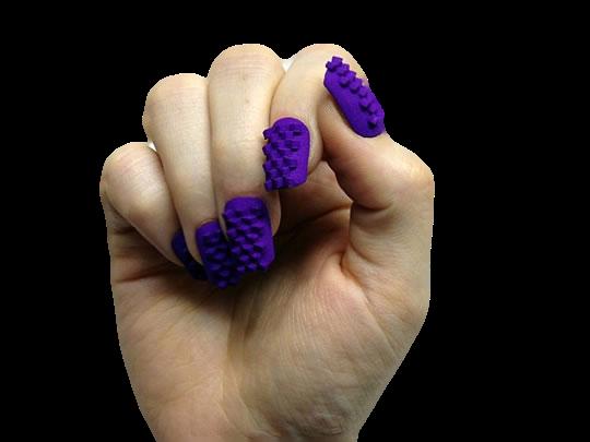 fabriquer des faux ongles avec une imprimante 3d laser