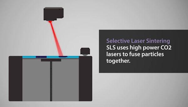 Le frittage laser tombe dans le domaine public