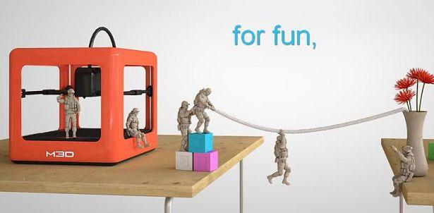 Micro 3D : une nouvelle imprimante 3D low cost !