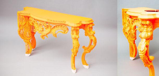 du mobilier original et qui sort de l'ordinaire pour votre salon grâce à une nouvelle imprimante 3D