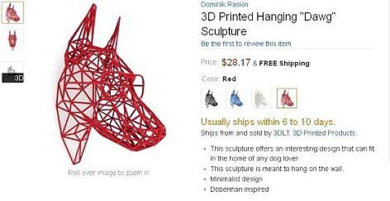 Amazon se met aux «objets 3D»