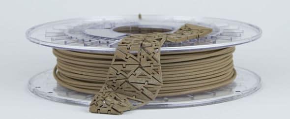 imprimer avec du bronzefill mélange de cuivre et d'étain
