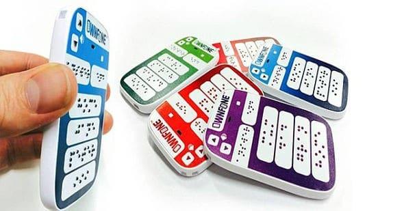 ownfone-braille un appareil pour aveugles