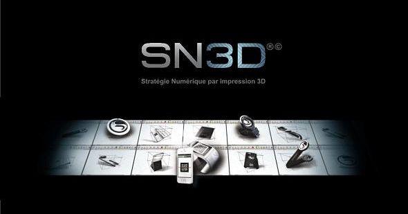 SN3D : l'impression 3D pour donner du relief à votre communication
