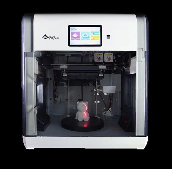 modèle da Vinci 2.0 AIO avec deux extrudeurs
