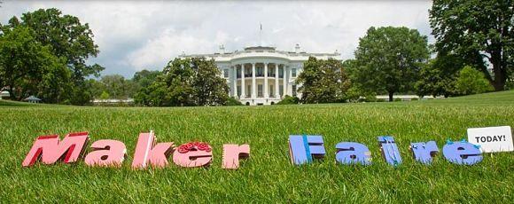 Maker Faire à la Maison Blanche