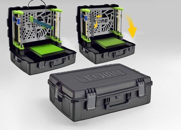 Tome – l'imprimante 3D portative