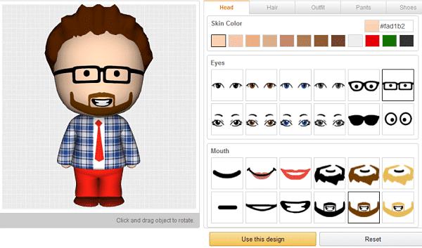 Amazon propose de créer votre propre avatar grâce à l'impression 3D