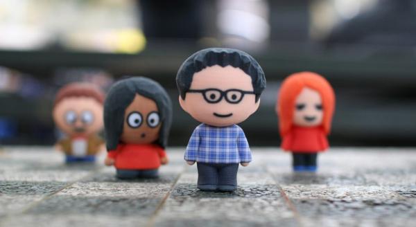 petite personnage imprimé en 3d