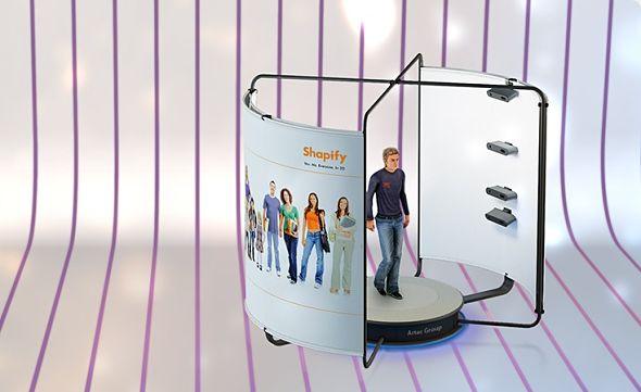 Les magasins Hema impriment votre figurine grâce à ses photomatons 3D