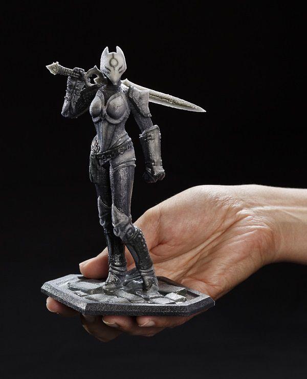 Les héros d'Infinity Blade entre vos mains grâce à l'impression 3D