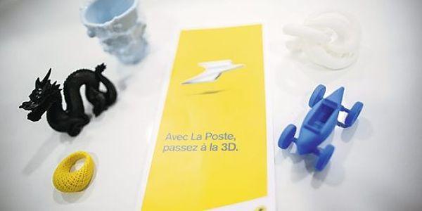 La Poste lance un nouveau service d'impression 3D à Bordeaux