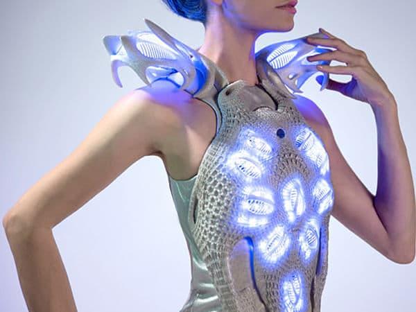 la robe synapse imprimée en 3d