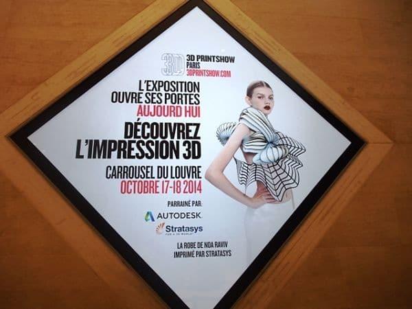 Visite 3D Printshow Paris 2014 – 1ère partie