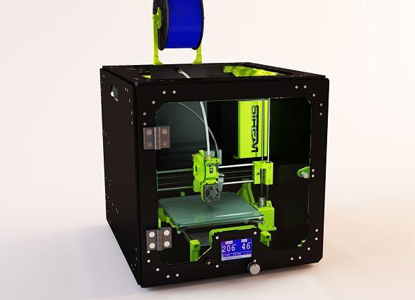 Stream 20 : une imprimante 3D de bureau Made in France !