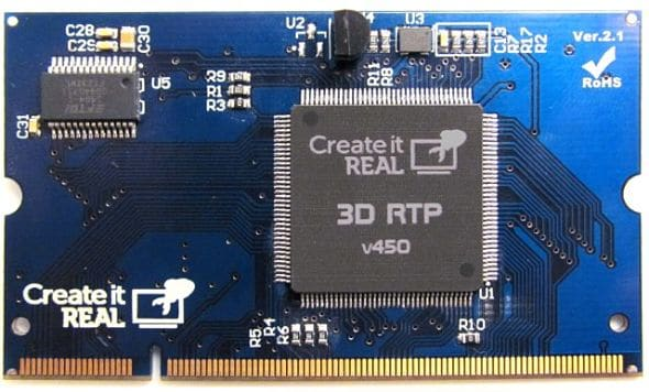puce 3D RTP V450