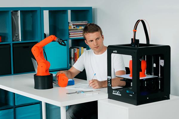 Zortrax : quand le spécialiste des imprimantes 3D se met à la robotique industrielle