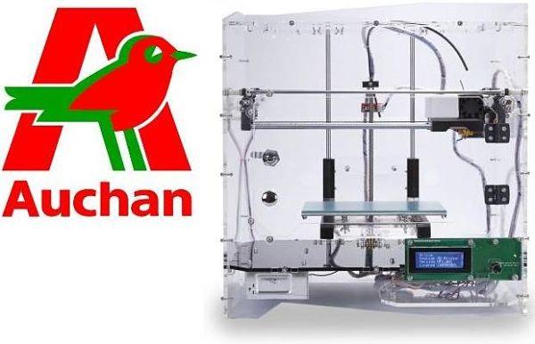 imprimante 3D Auchan