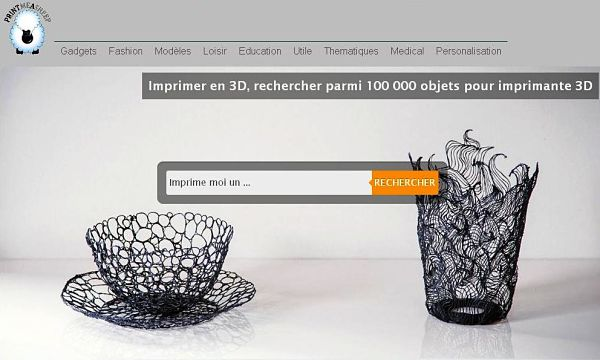 site français pour télécharger gratuitement des fichiers 3D