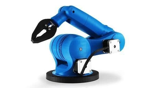 Très Zortrax imprime des bras robotisés DX27
