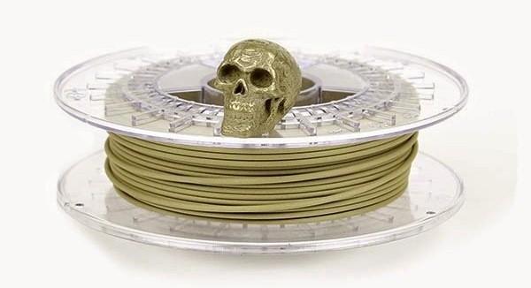 BrassFill : un filament qui vaut son pesant d'or…