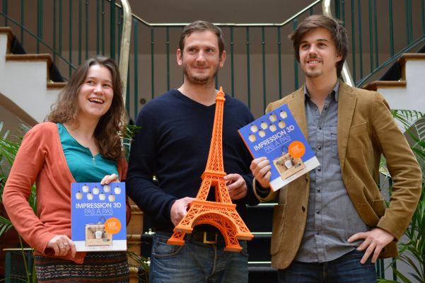 Livre «Impression 3D pas à pas» : Interview de son auteur Samuel Bernier