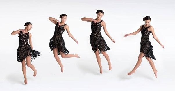 La première robe imprimée en 3D en une seule fois !