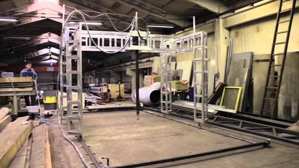 BetAbram lance la commercialisation de son imprimante 3D pour maison