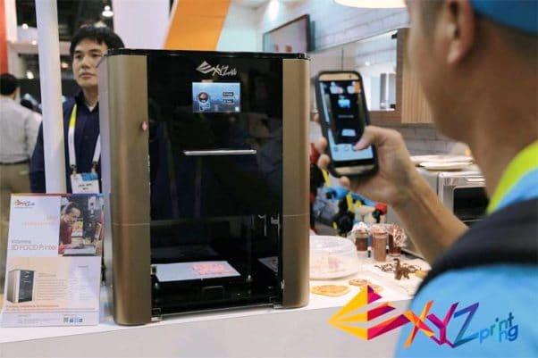 L'imprimante 3D alimentaire de XYZPrinting