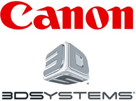 Canon Europe nouveau distributeur de 3D Systems