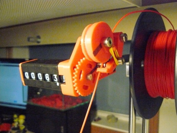 Un compteur à filament pour votre imprimante 3D