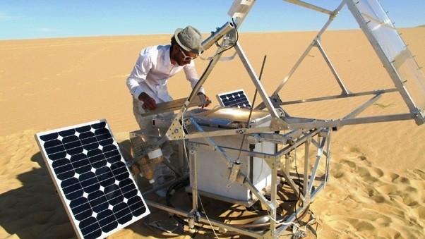 SolarSinter : une imprimante 3D à sable taillée pour le désert !
