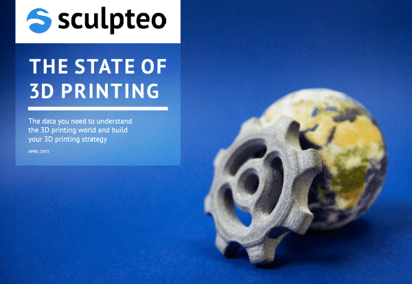 Sculpteo publie les résultats d'un sondage sur l'impression 3D