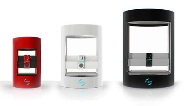 NEA 3D : trois imprimantes 3D qui cartonnent