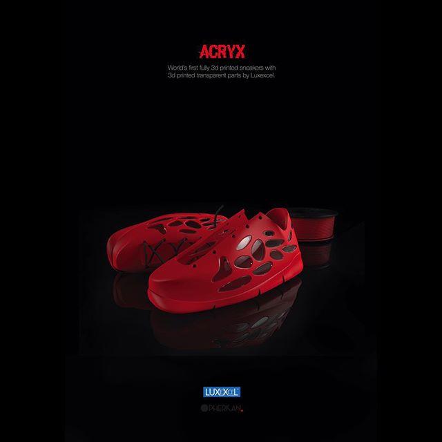 Acryx : des chaussures transparentes imprimées en 3D !