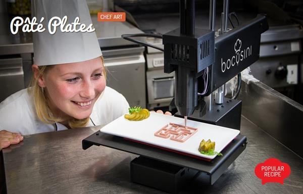 Imprimante 3D alimentaire : La Bocusini désormais disponible pour 899 € !