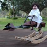 Grâce à l'impression 3D il reproduit le Speeder Bike de Star Wars pour sa fille !