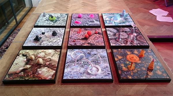peintures imprimées en 3d