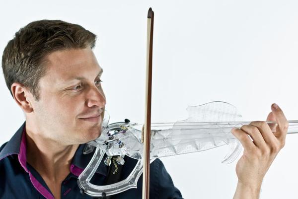 violon électrique imprimé en 3d