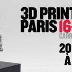 3D Printshow Paris 2015 : 20 entrées à gagner !