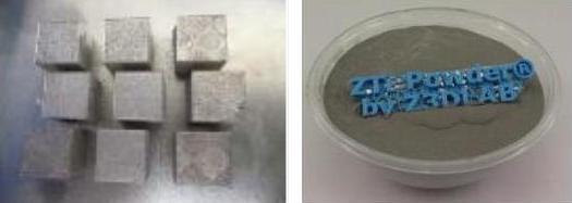 pièces ZTI powder