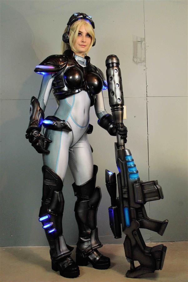 costume cosplay de StarCraft fabriqué par impression 3D