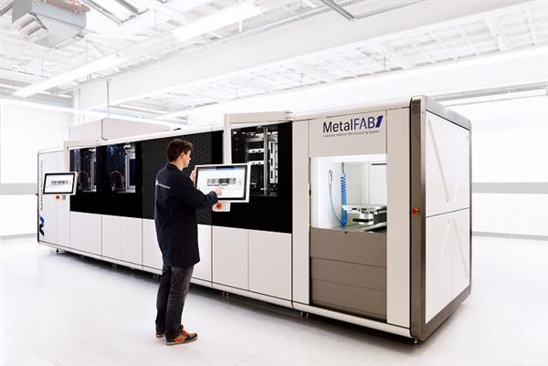 MetalFAB1 : la 1ère imprimante 3D métal à capacité industrielle