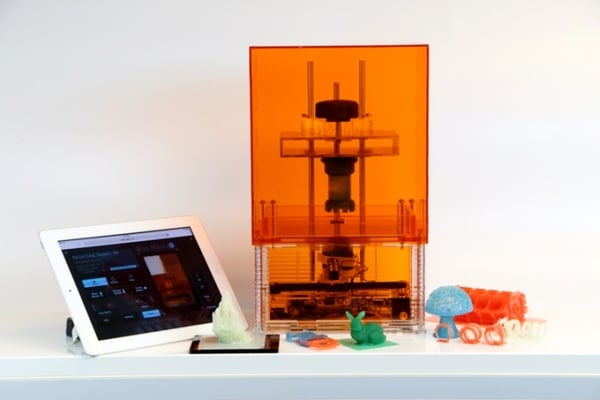 Macro 3D : la 1ère imprimante 3D résine à imprimer du carbone